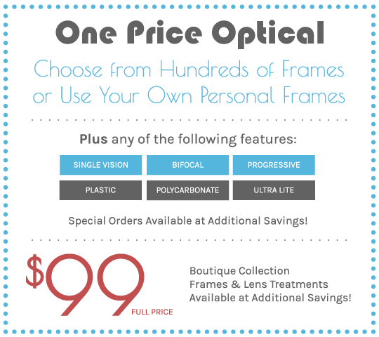 $99 frames and treatments coupon
